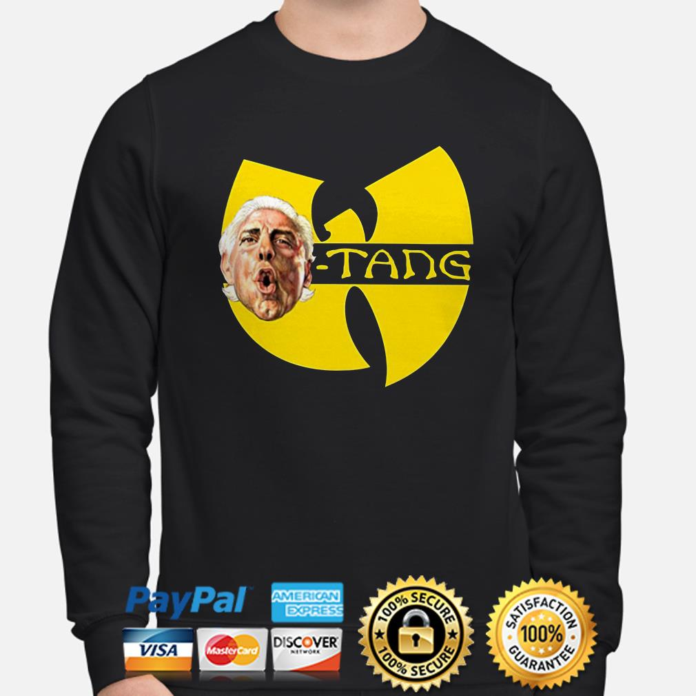 Dope Ric Flair Wu- Tang sweater
