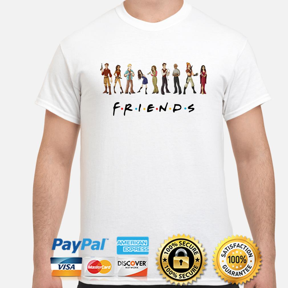 Friends Animated Firefly character shirt