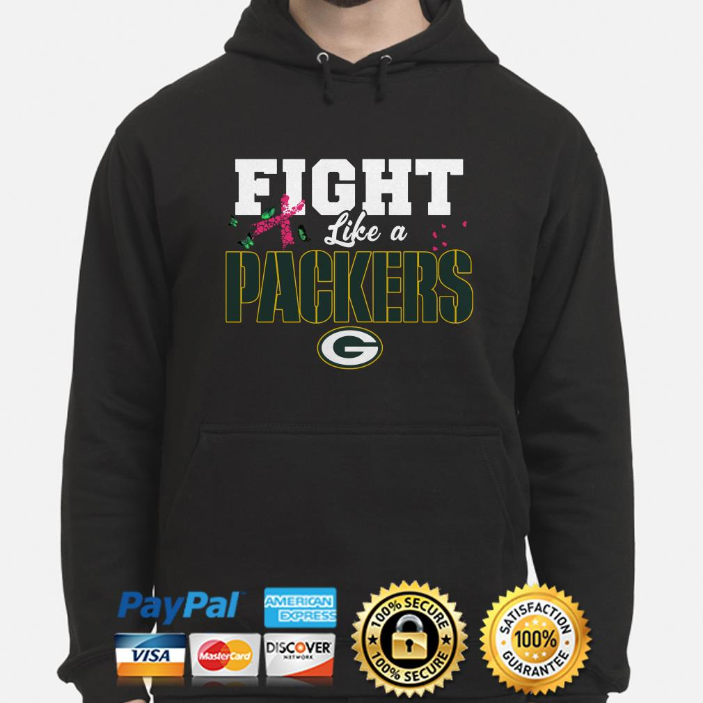 new product e6b69 3feca Greenbay Packers Breast Cancer Awareness fight like a ...