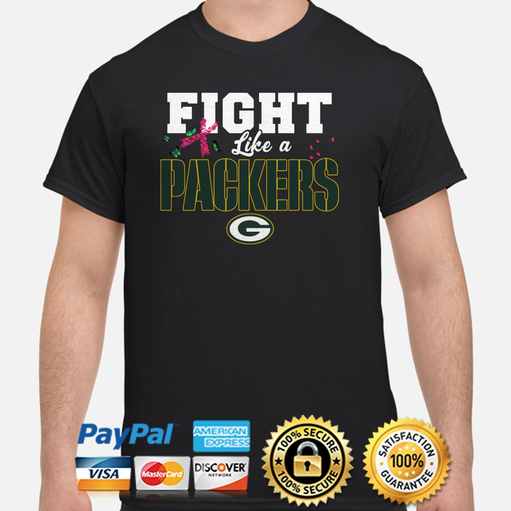 Greenbay Packers Breast Cancer Awareness fight like a Packers shirt