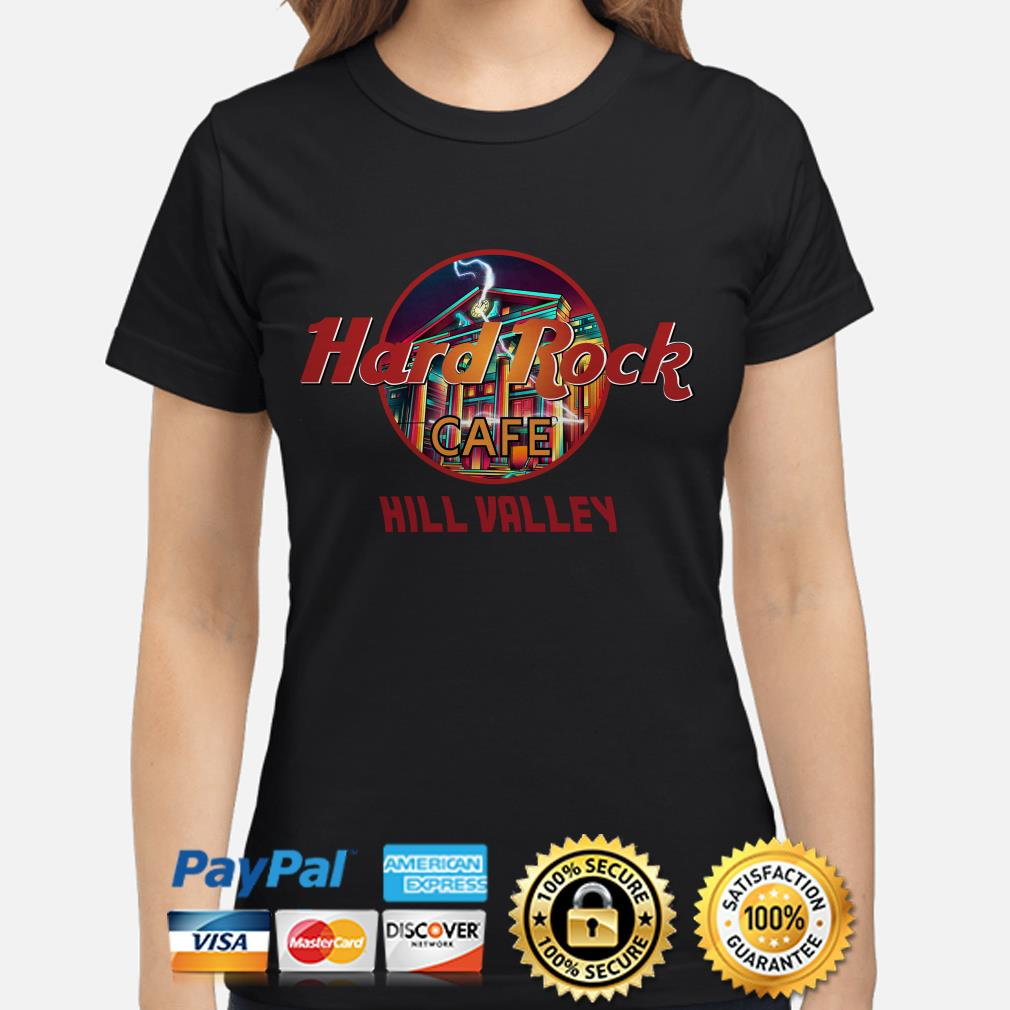Hard Rock Cafe Hill Valley ladies shirt