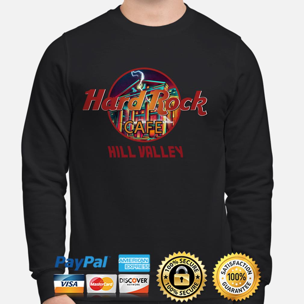 Hard Rock Cafe Hill Valley sweater