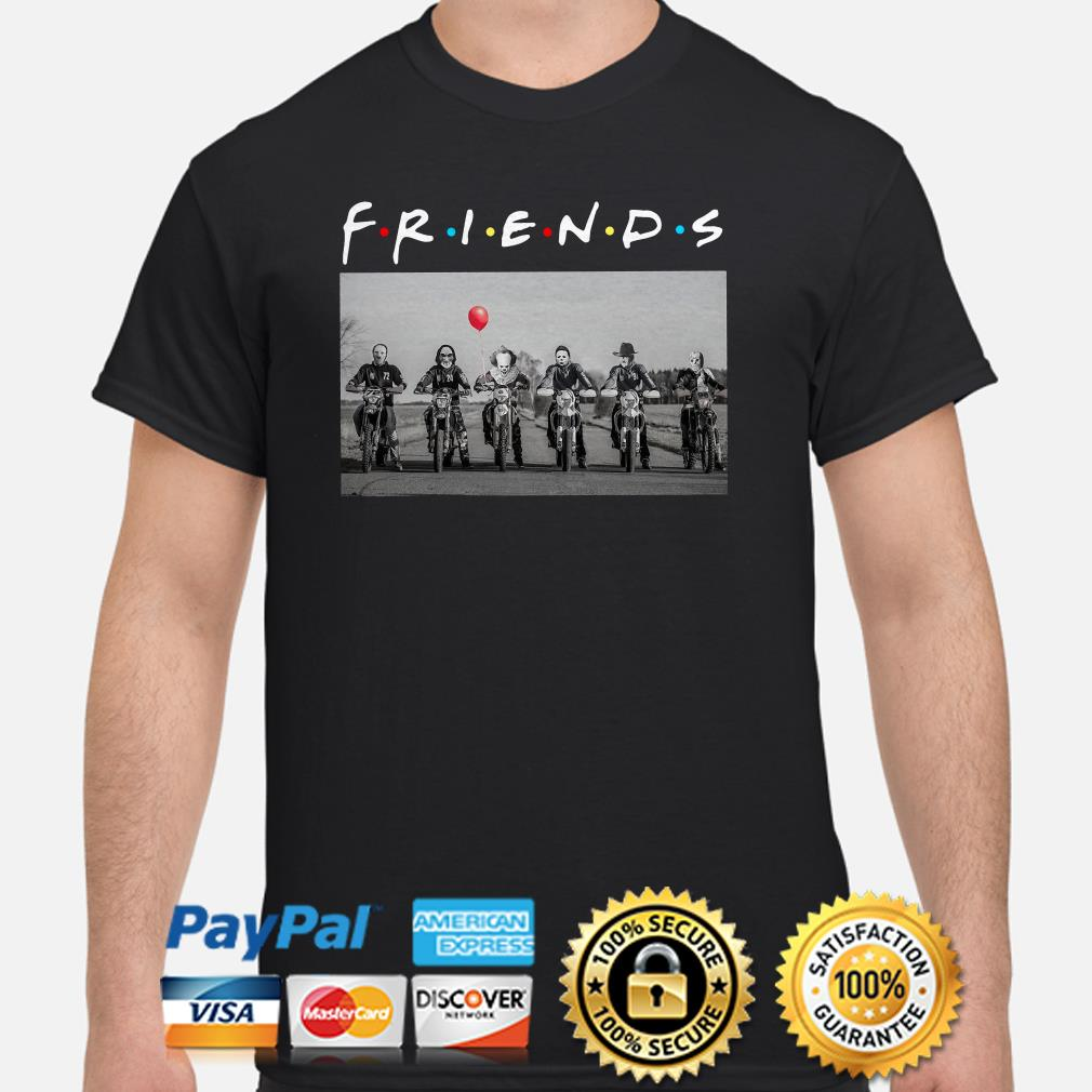 Horror Characters Lionhearts Friends shirt