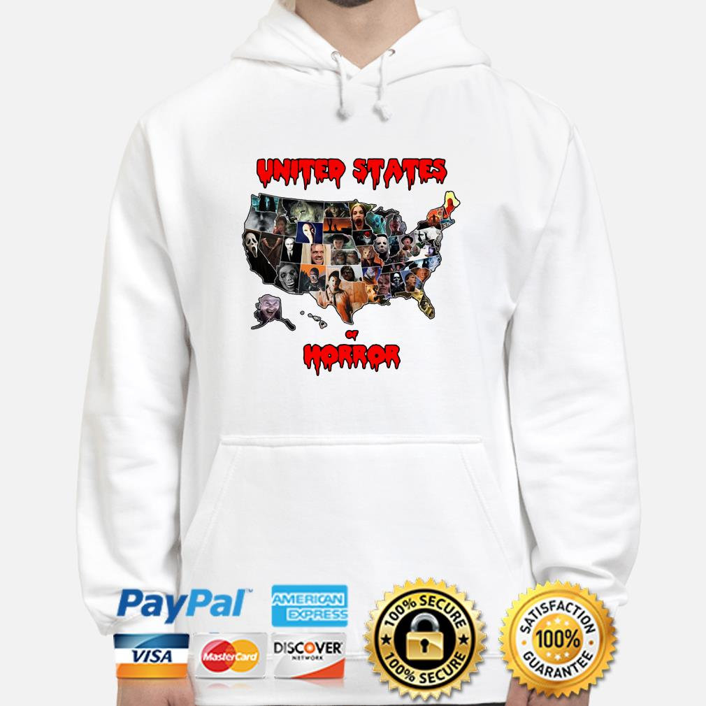 Horror characters United States of Horror hoodie