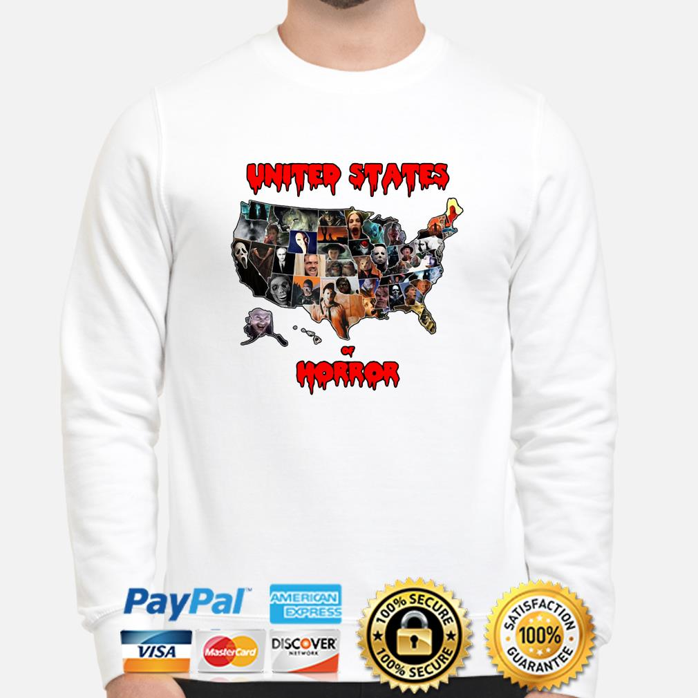 Horror characters United States of Horror sweater
