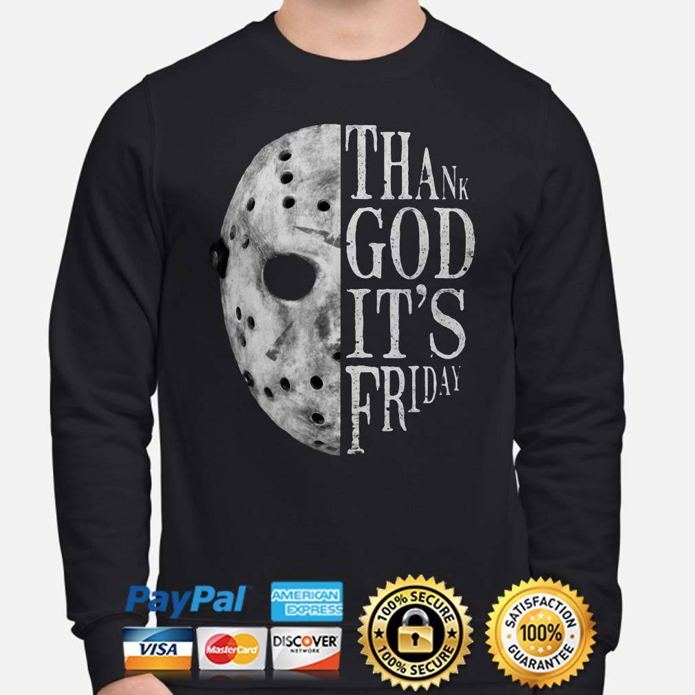 Jason Voorhees Thank God it's Friday sweater