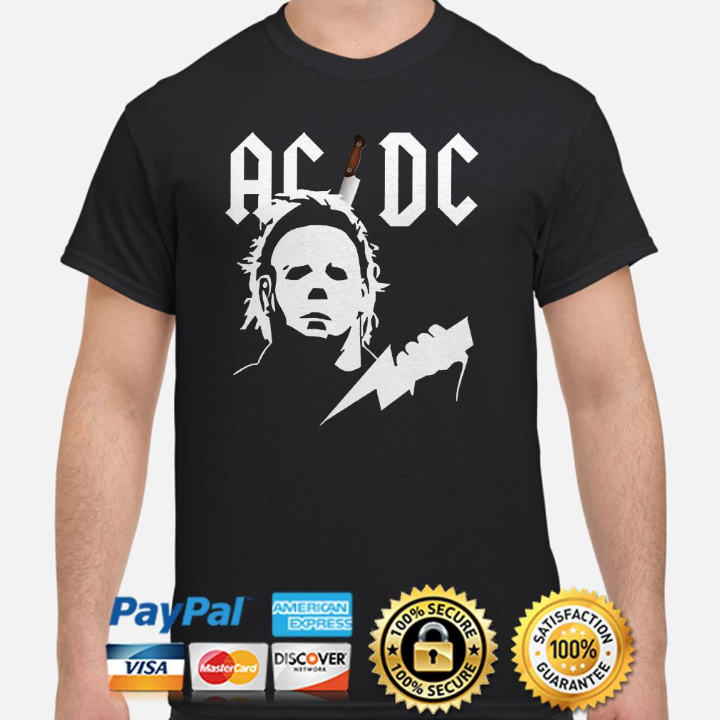 Michael Myers ACDC shirt