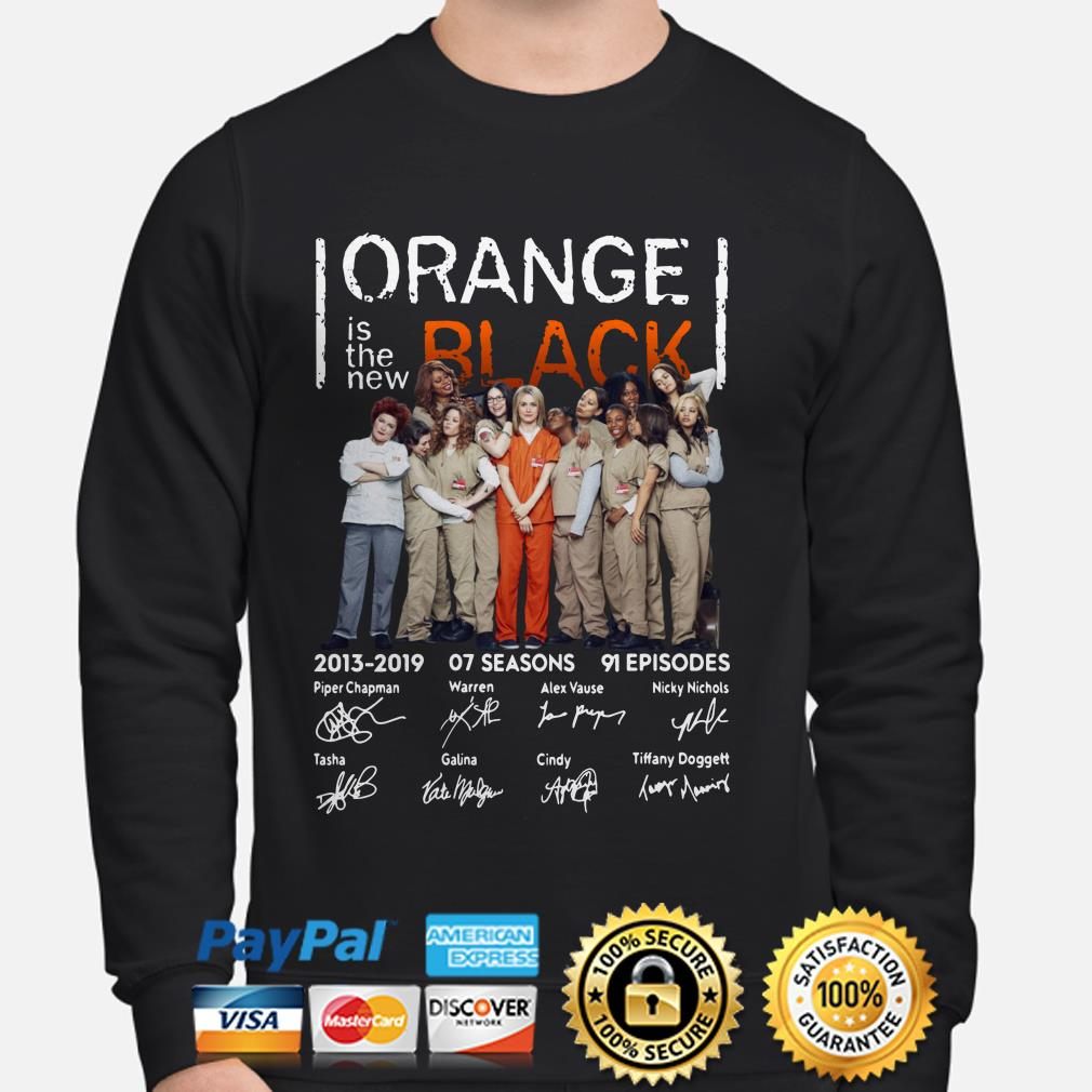 Orange Is The New Black 2013 2019 signatures sweater