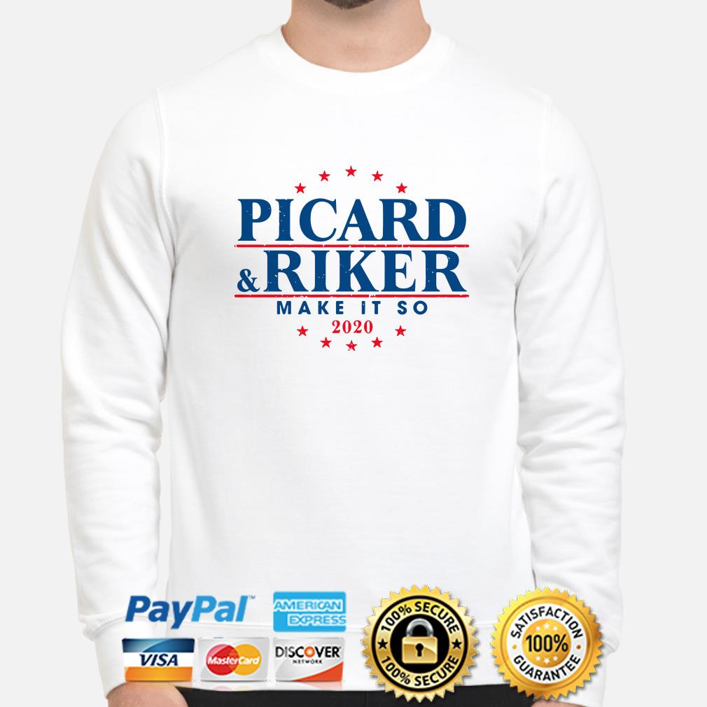 Picard and Riker make it so 2020 sweater
