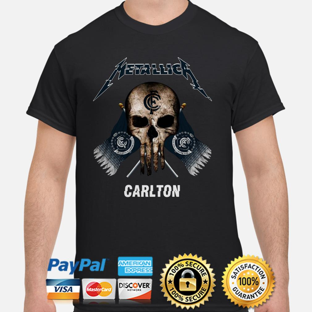 Punisher Metallica Carlton shirt