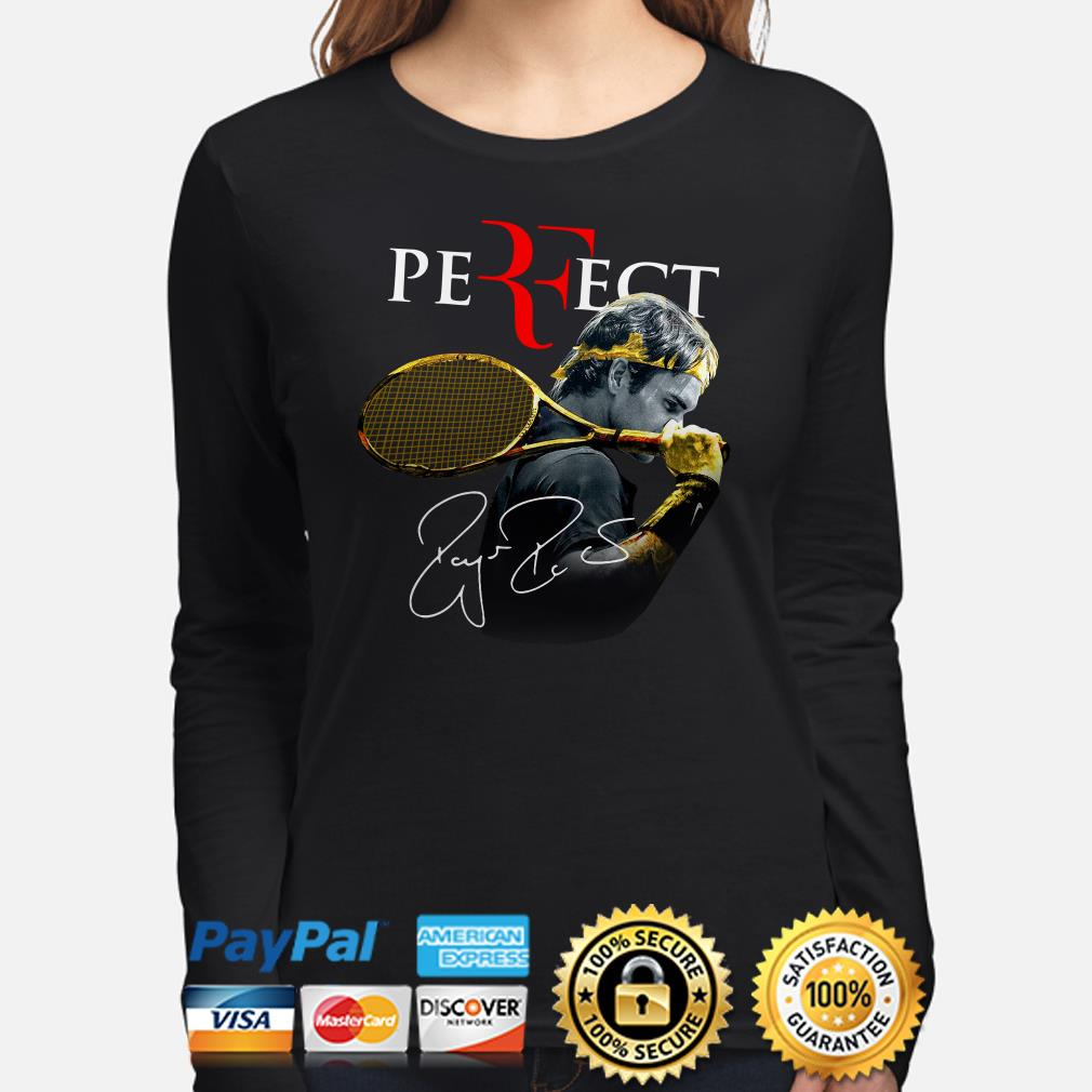 Roger Federer Perfect signature long sleeve