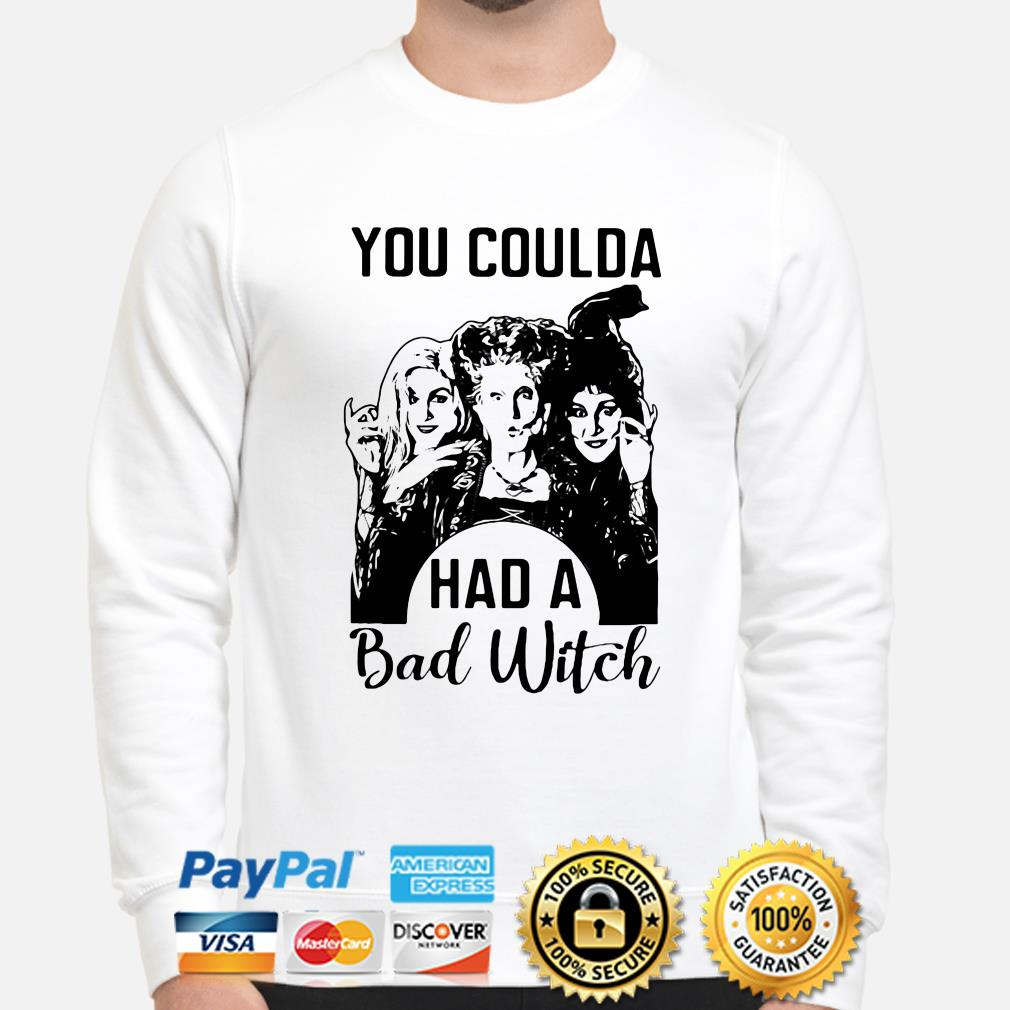 Sanderson Sisters Hocus Pocus you coulda had a bad witch sweater