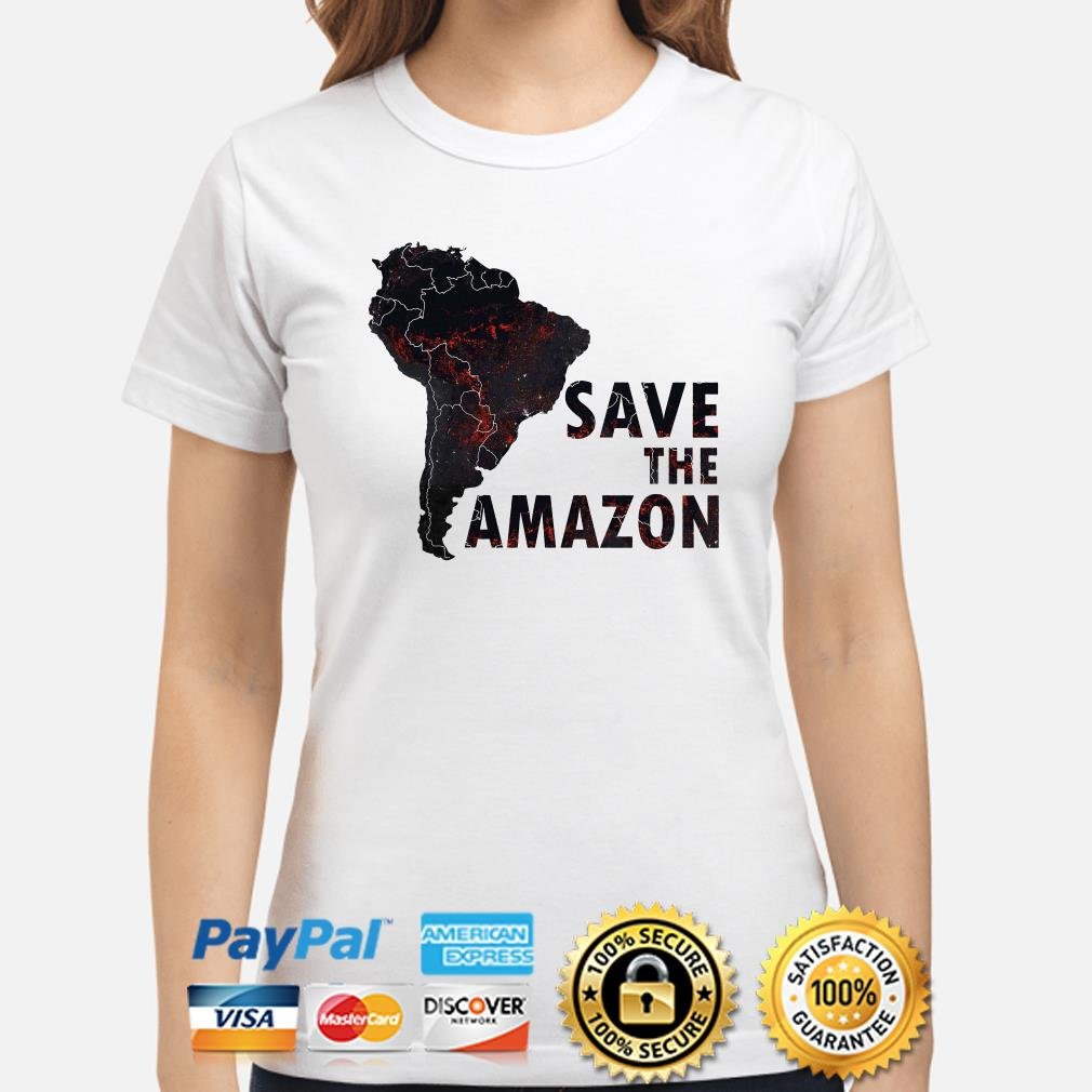 Save the Amazon ladies shirt