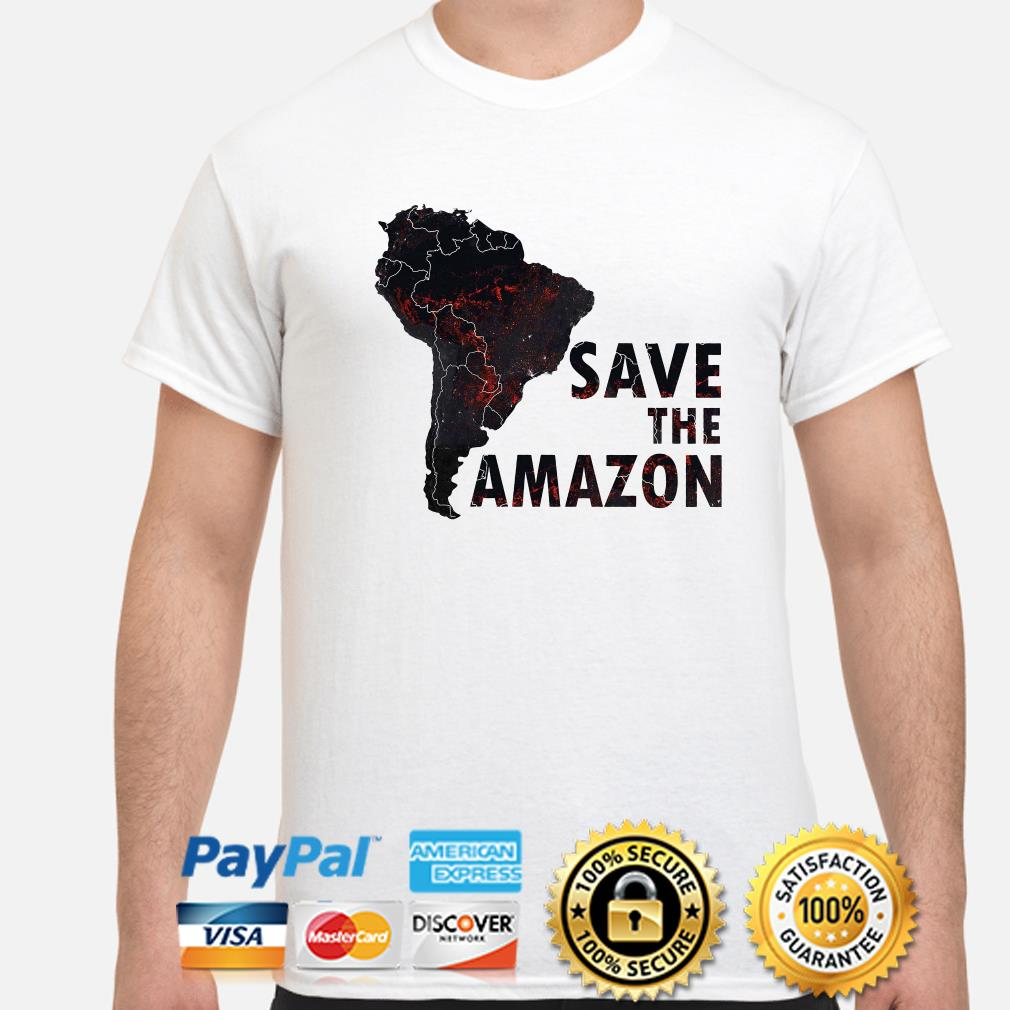 Save the Amazon shirt