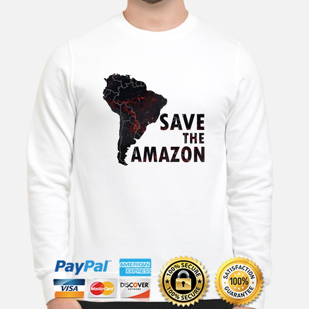 Save the Amazon sweater