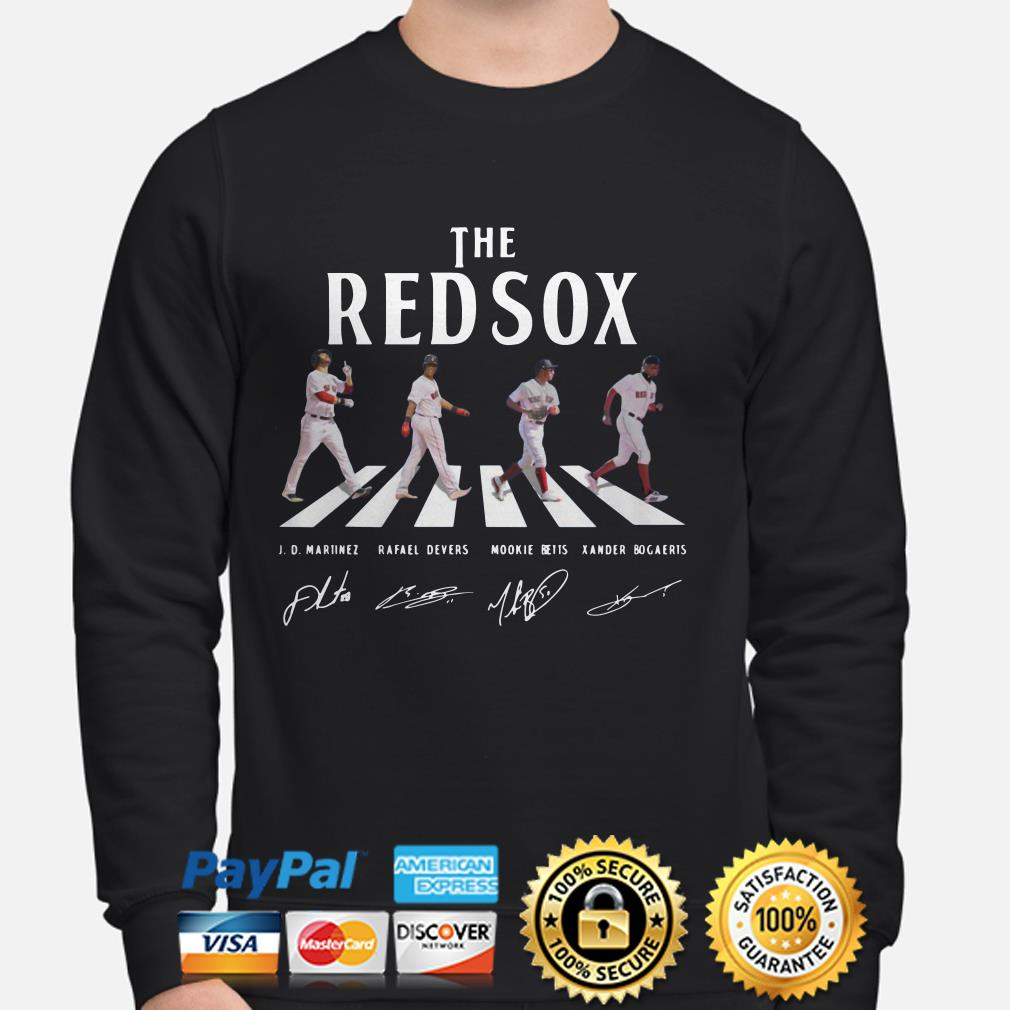 The Boston Red Sox Abbey road sweater