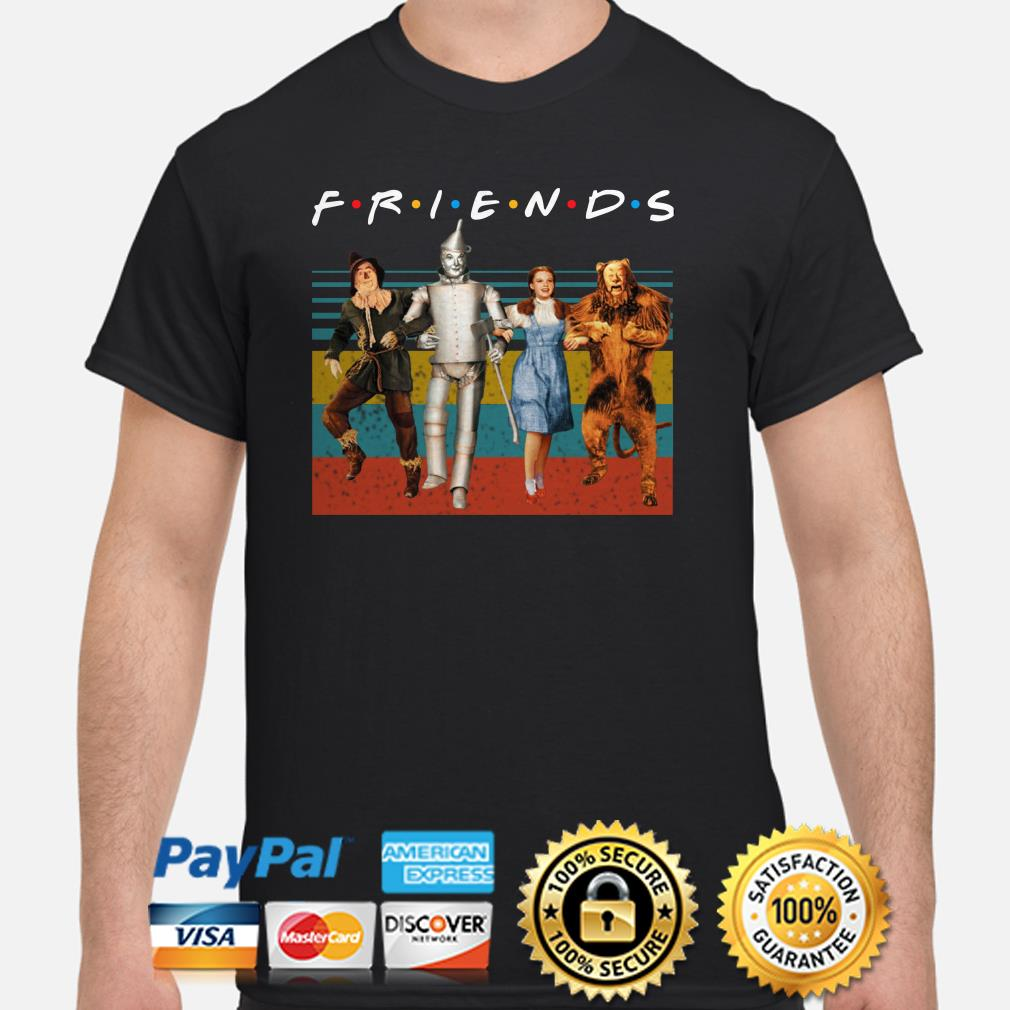 The Wizard of OZ Friends vintage shirt