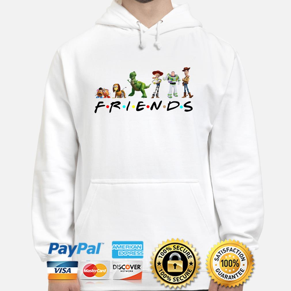 Toy Story Friends TV show hoodie