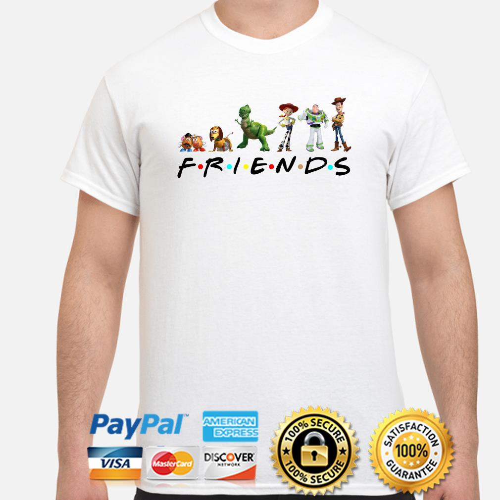 Toy Story Friends TV show shirt