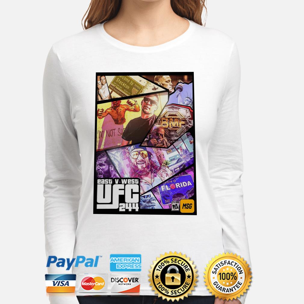East And West UFC 244 Florida Nate Diaz long sleeve