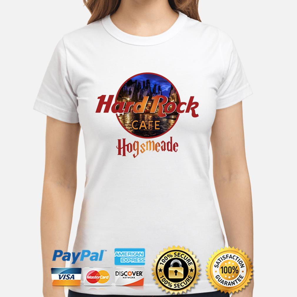 Hard Rock Cafe Hogsmeade ladies shirt