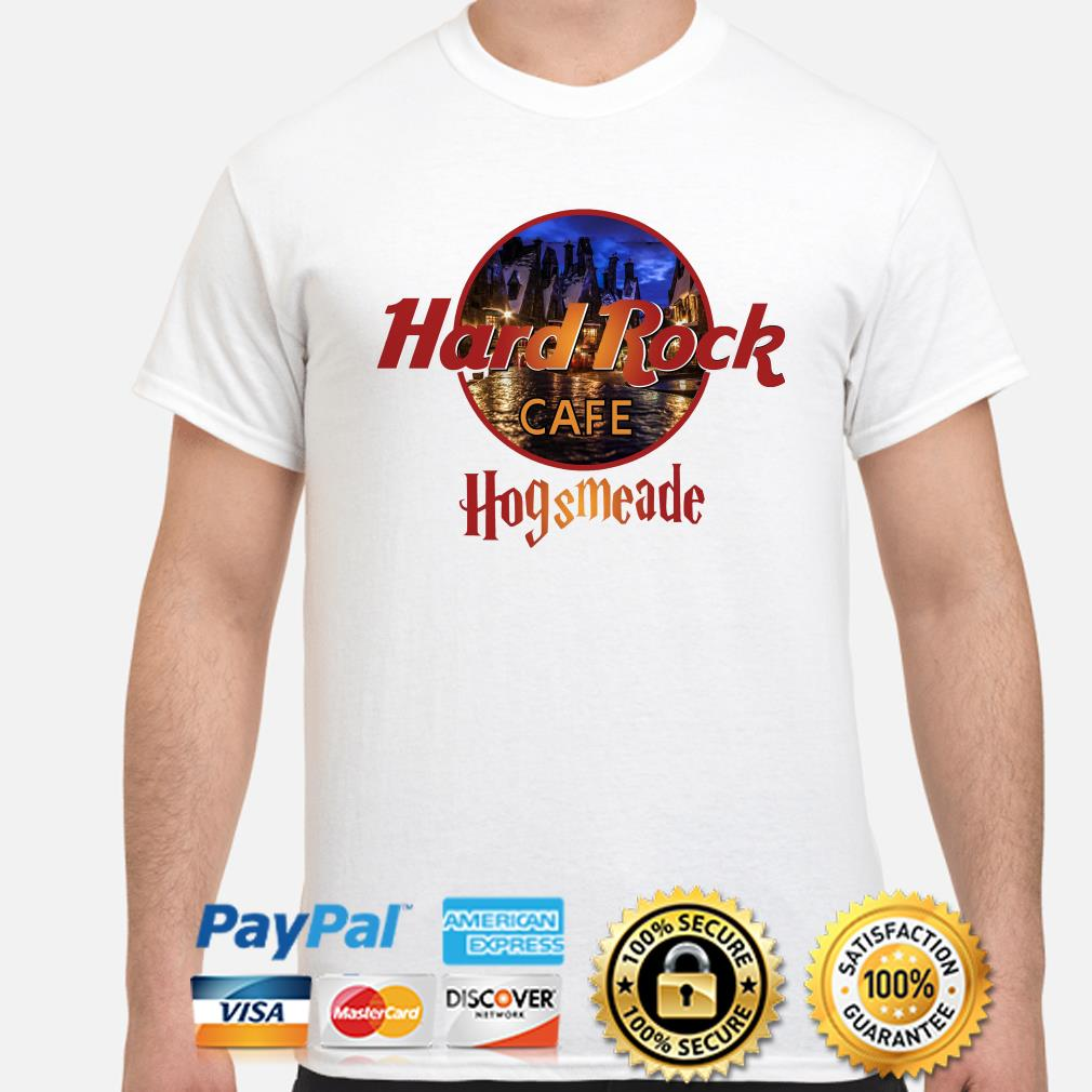 Hard Rock Cafe Hogsmeade shirt