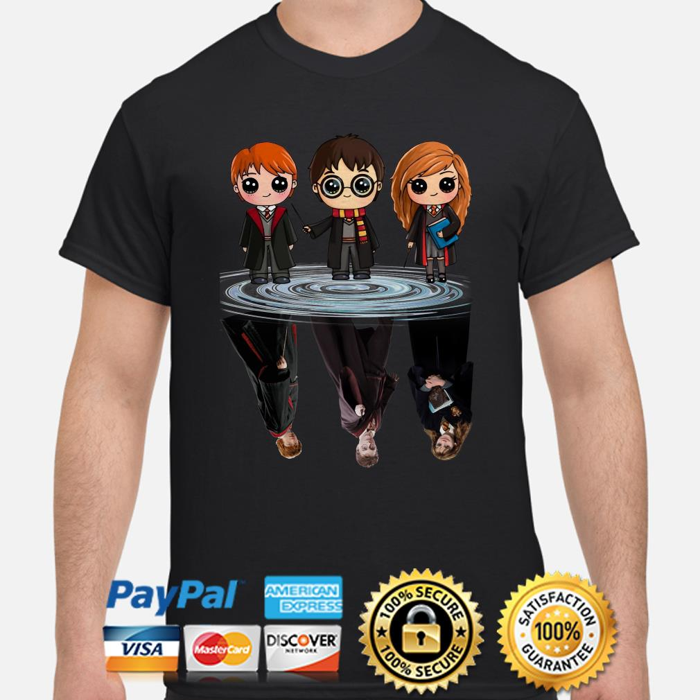 Harry Potter Characters water reflection shirt