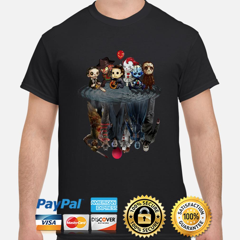 Horror Character water reflection shirt