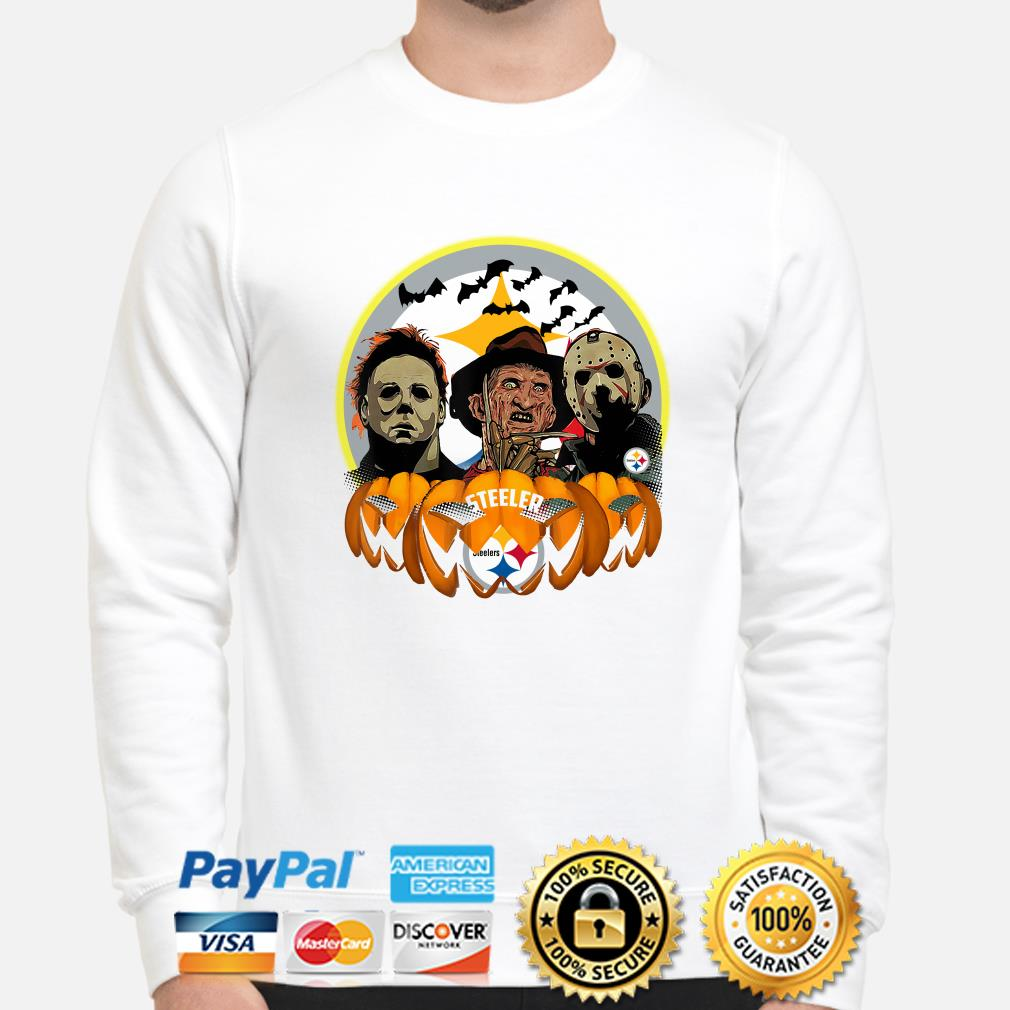 Horror Characters Pittsburgh Steelers Pumpkin sweater