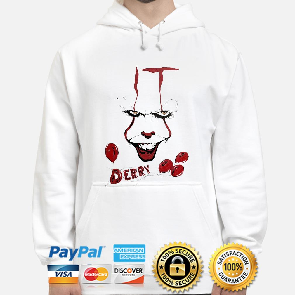 IT Pennywise Derry hoodie