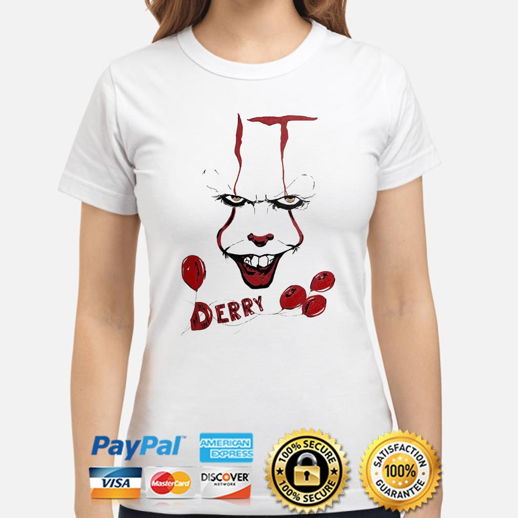 IT Pennywise Derry ladies shirt