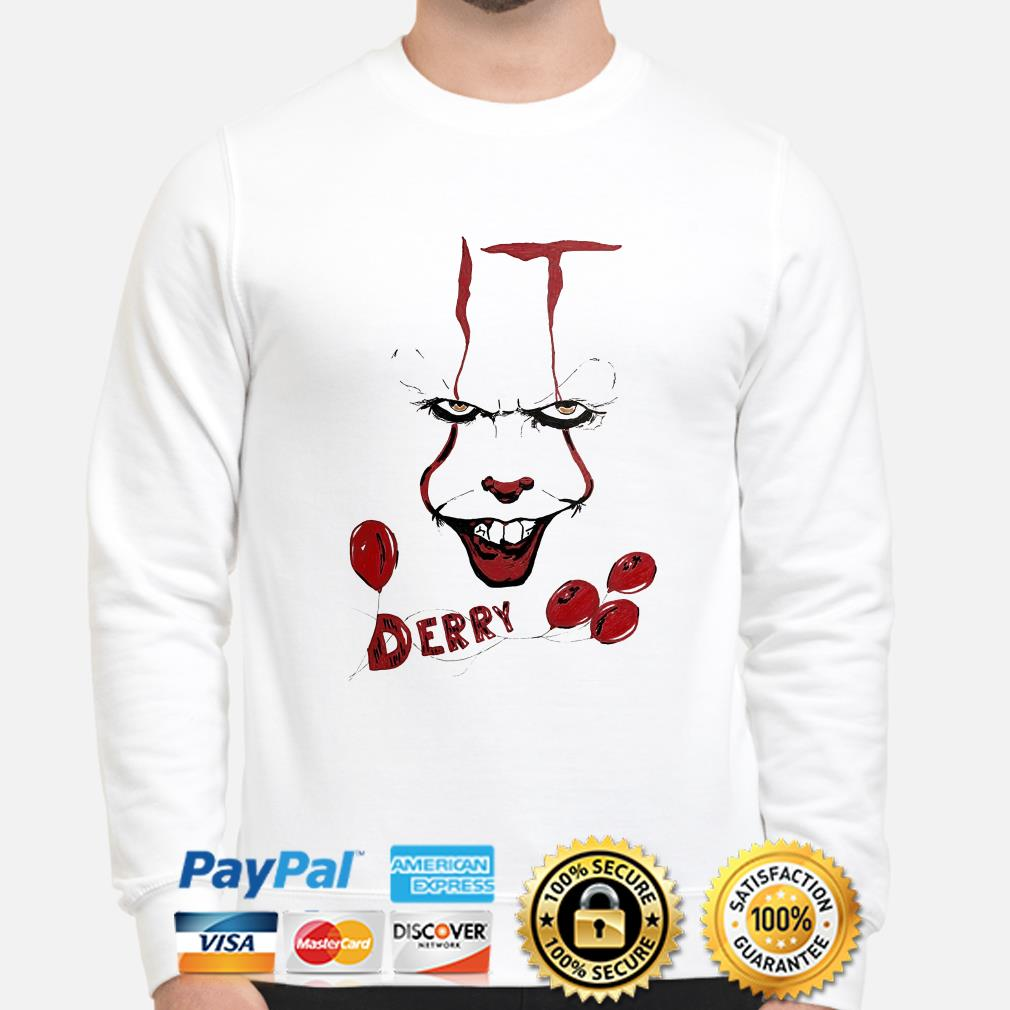 IT Pennywise Derry sweater