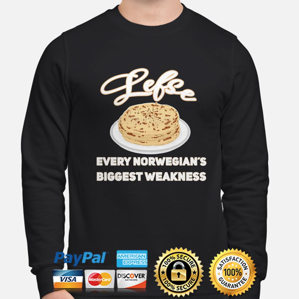 Lefse Every Norwegian's biggest weakness sweater