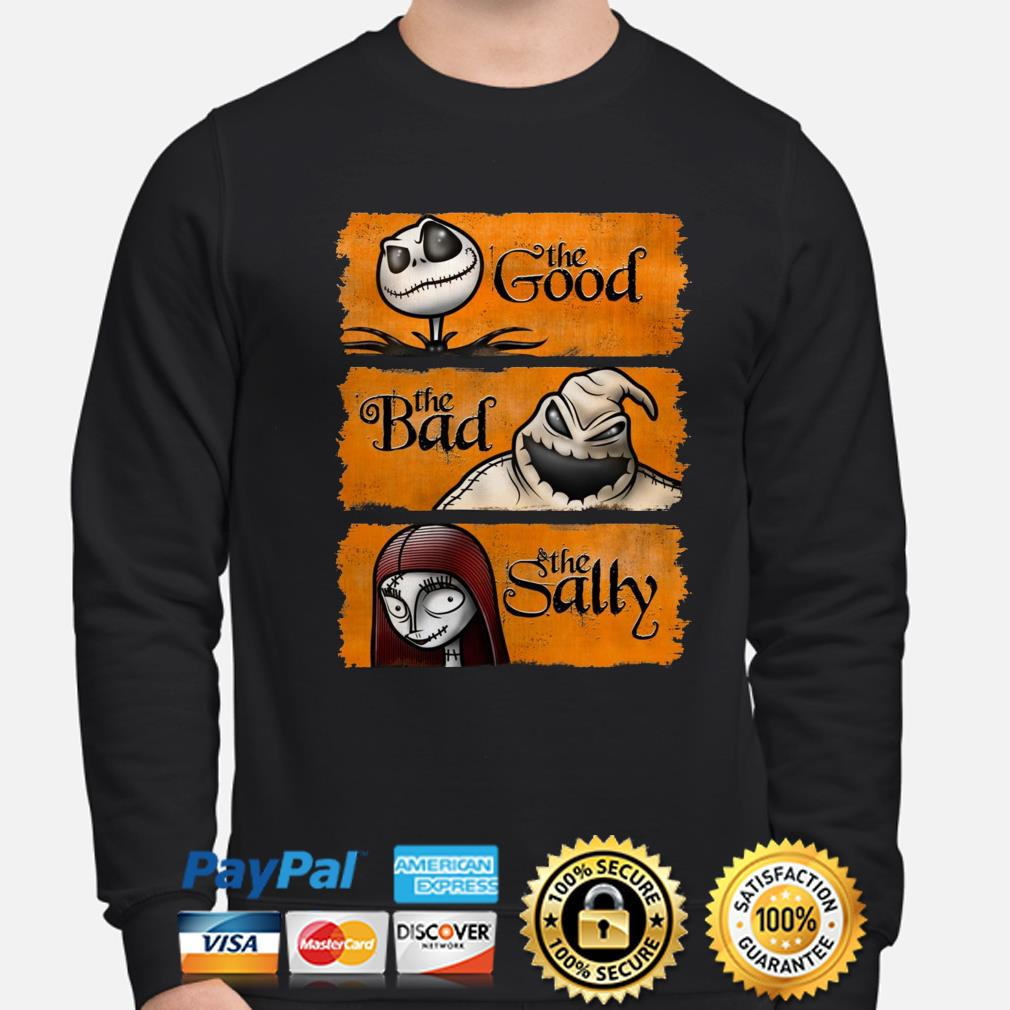 Nightmare Before Christmas the good the bad the sally sweater