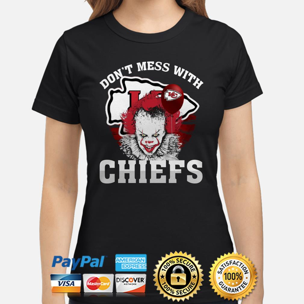 Pennywise Don't mess with Chiefs ladies shirt