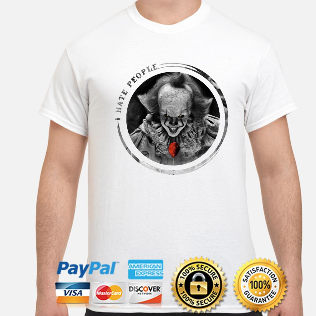 Pennywise I hate people shirt