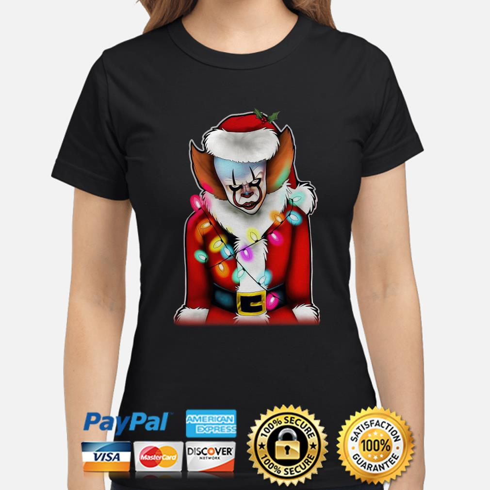 Pennywise Santa Claus ladies shirt