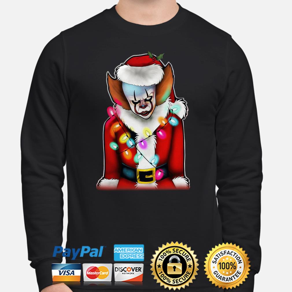 Pennywise Santa Claus sweater