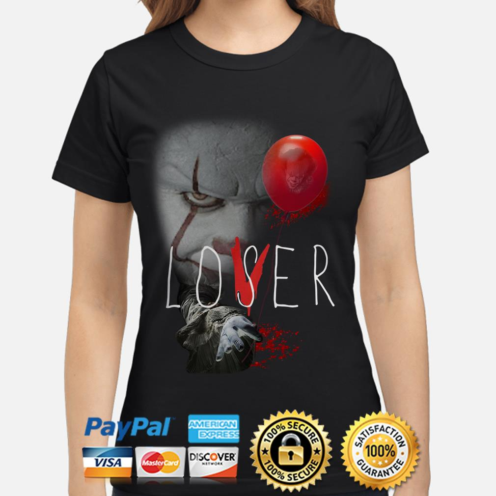 The IT Pennywise Lover Loser ladies shirt