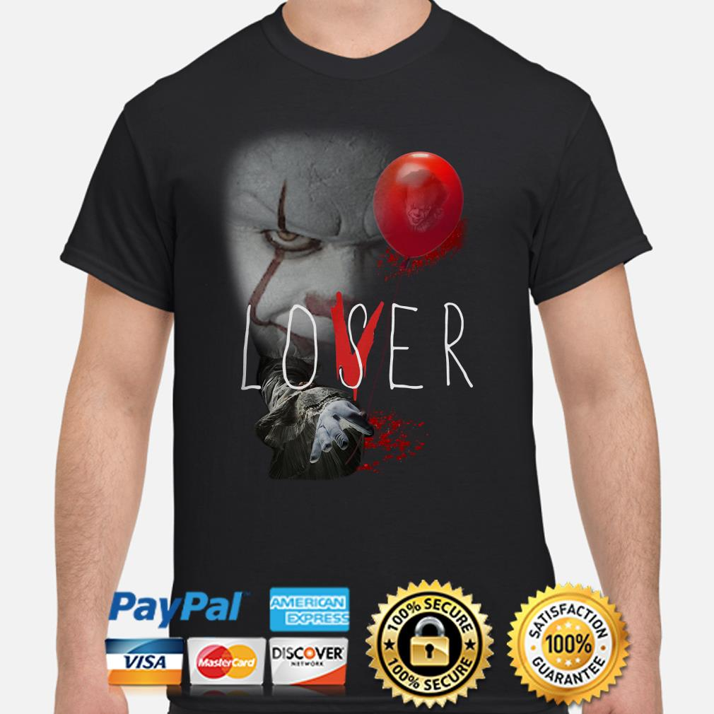The IT Pennywise Lover Loser shirt