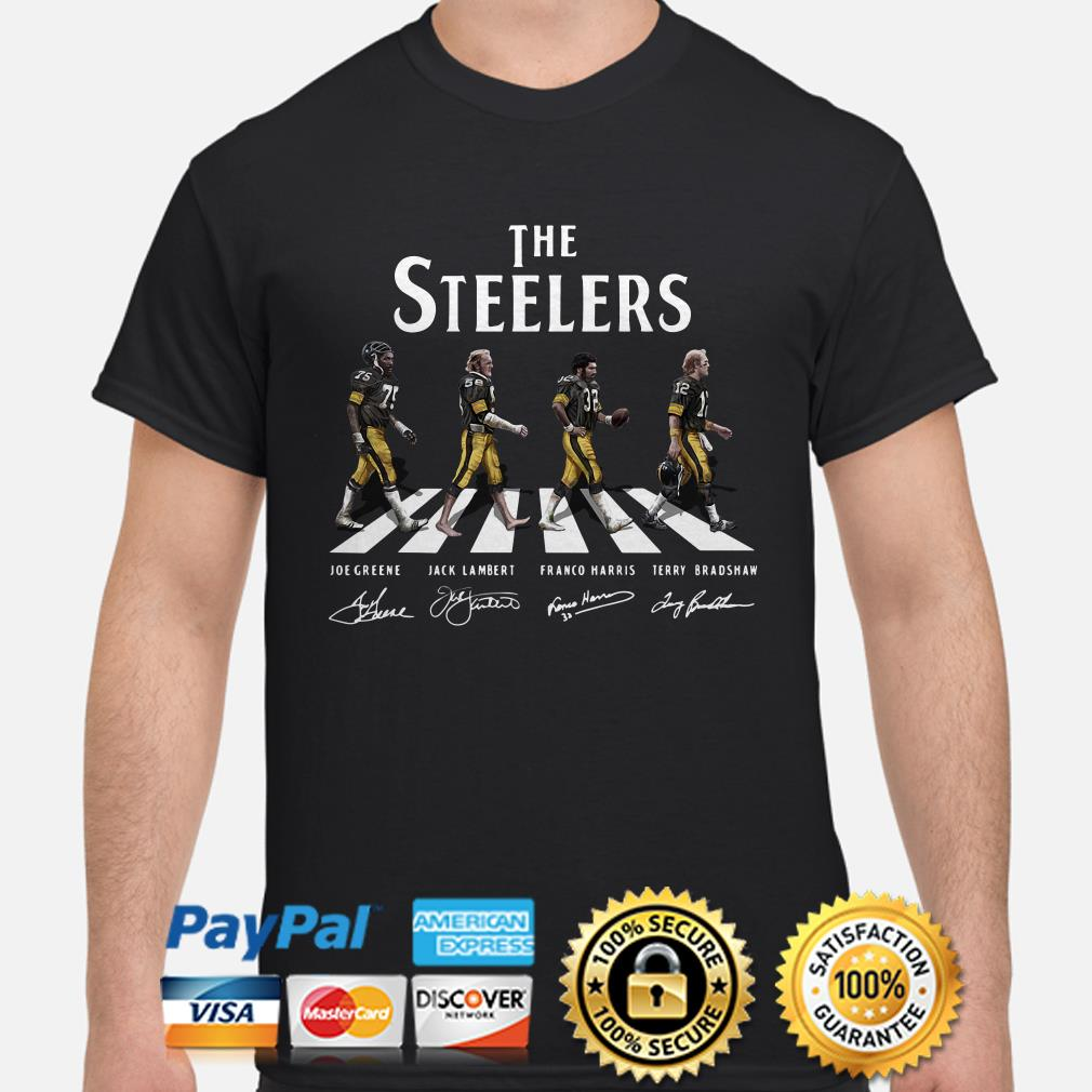 The Pittsburgh Steelers Abbey Road shirt