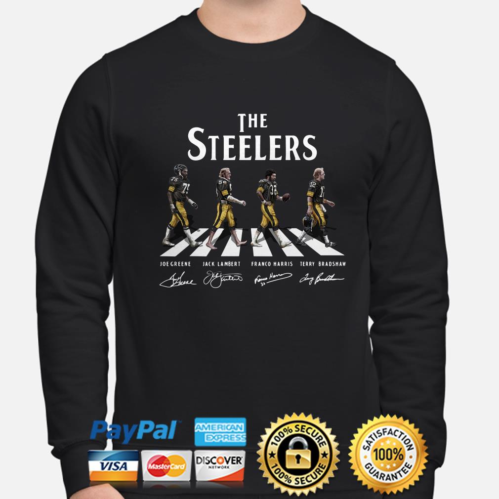 The Pittsburgh Steelers Abbey Road sweater