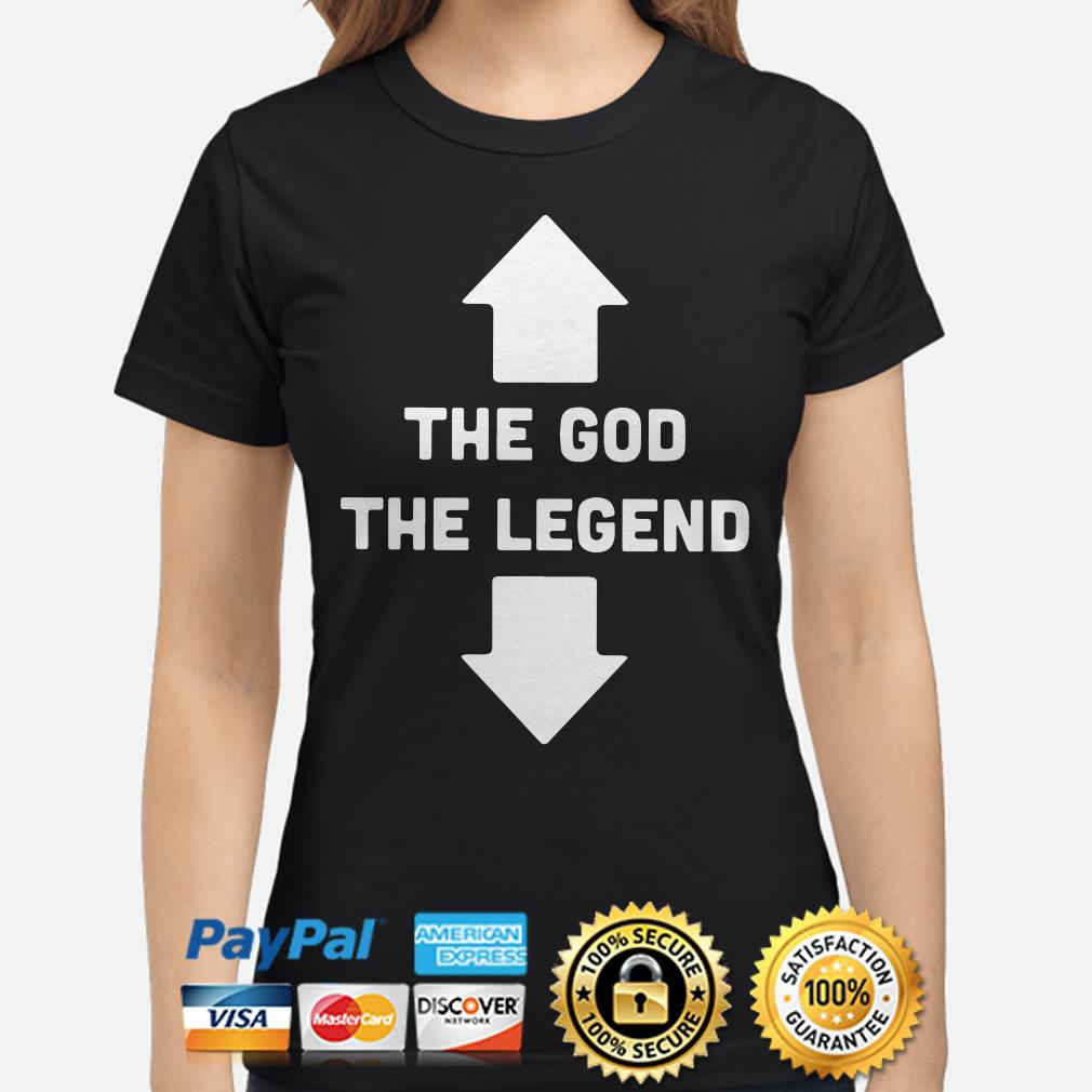 Two Seater the God the Legend ladies shirt