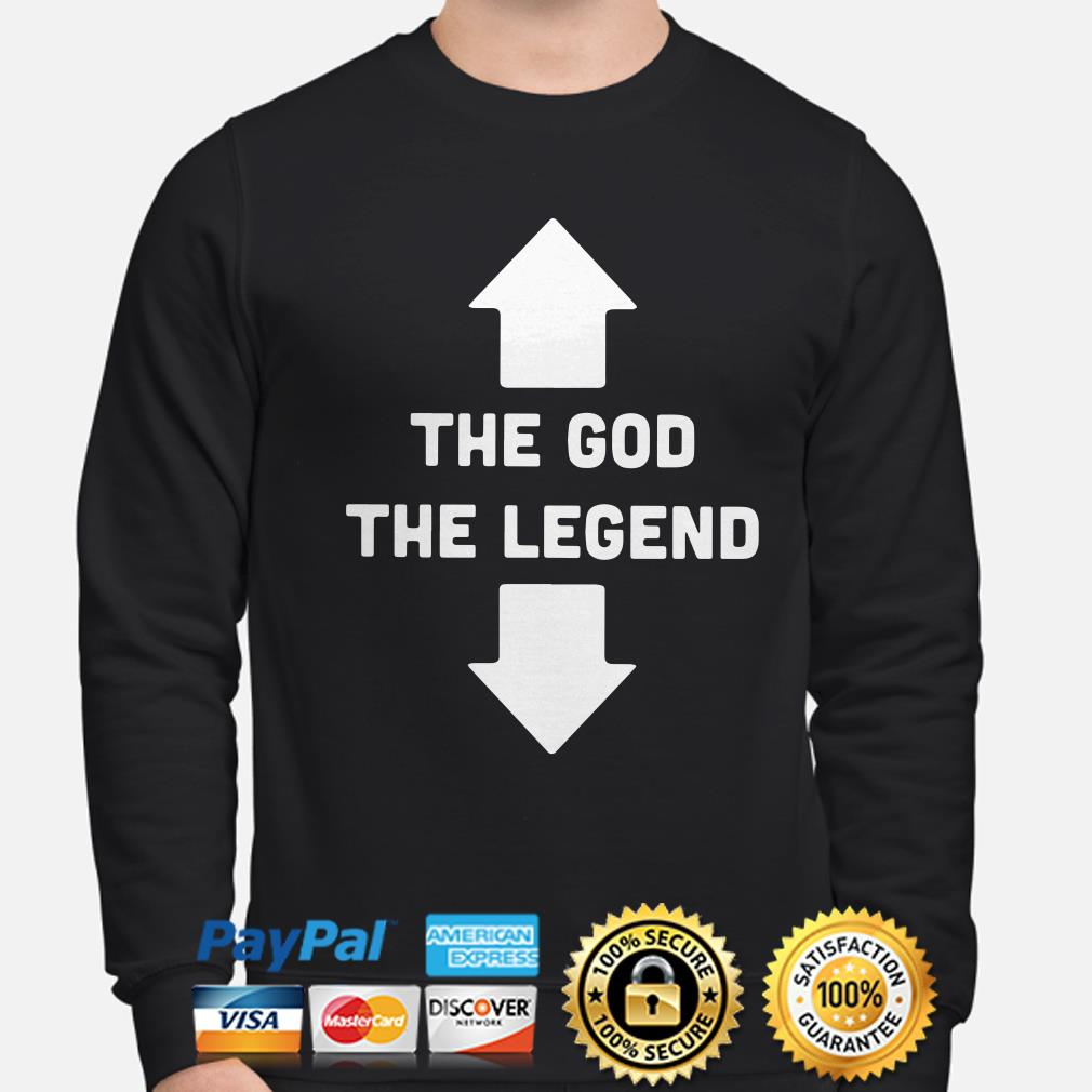 Two Seater the God the Legend sweater