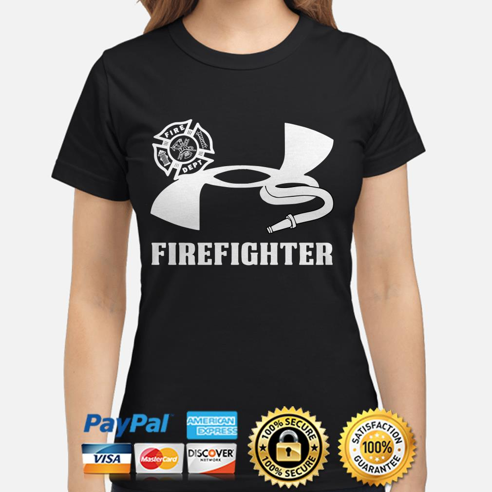 Under Armour Firefighter ladies shirt