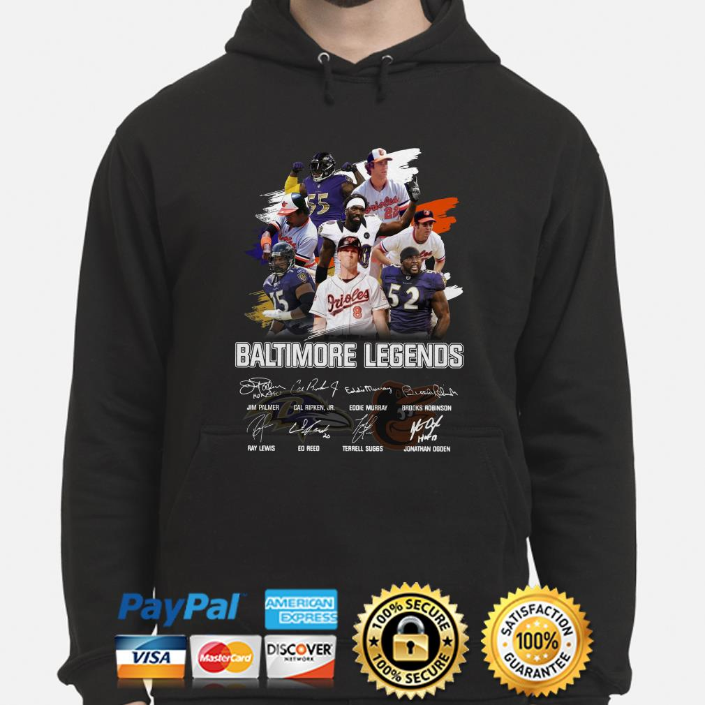 Bantimore Sports Legends signature hoodie