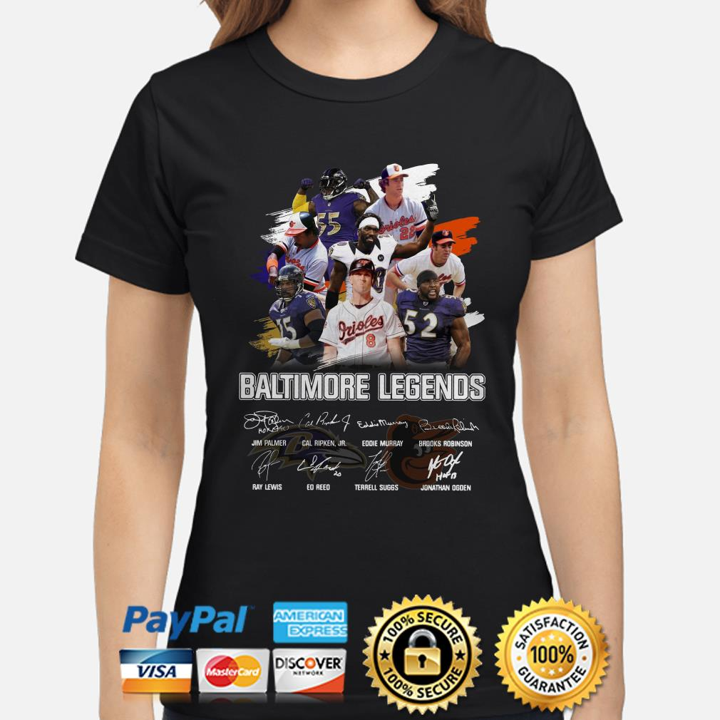 Bantimore Sports Legends signature ladies shirt