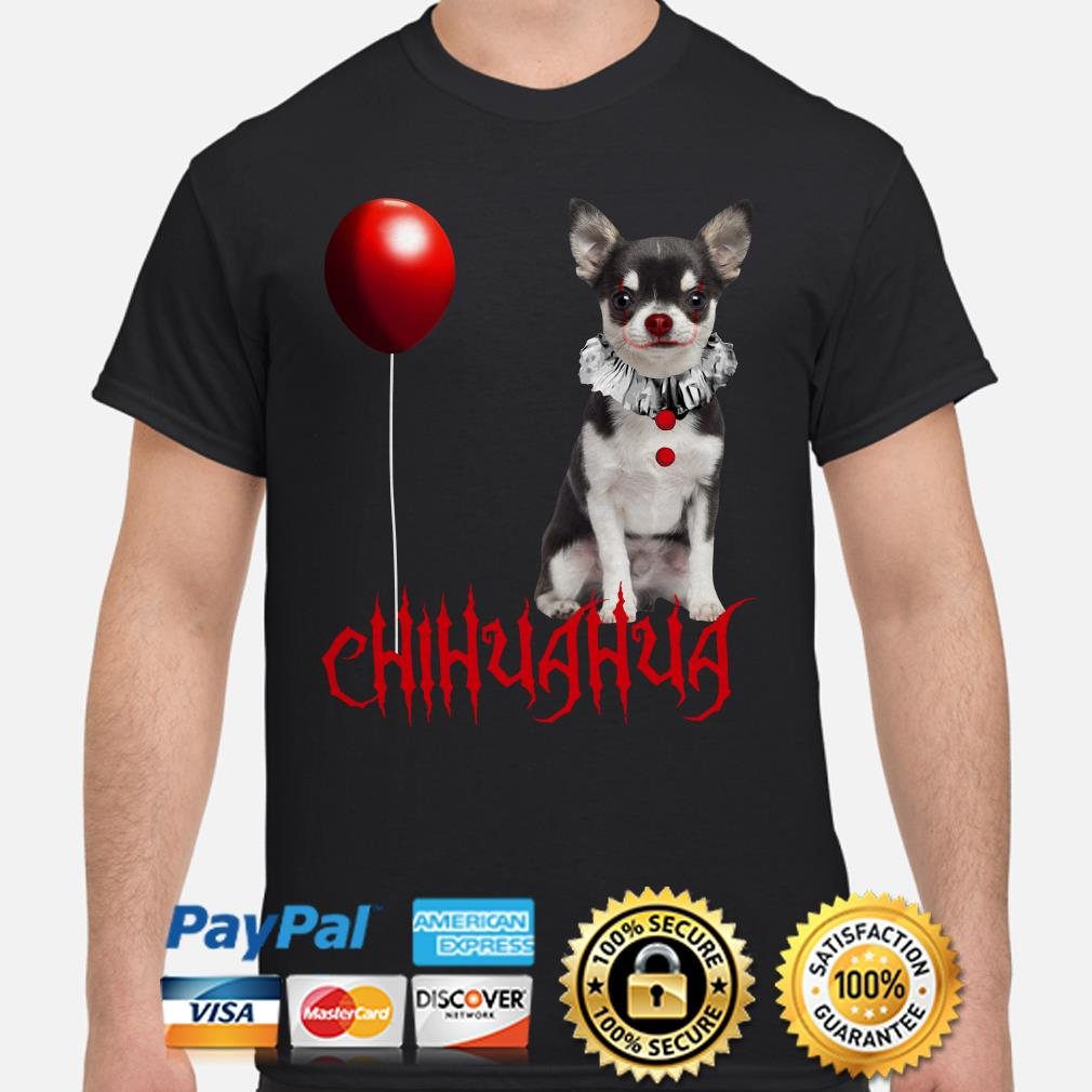Chihuahua Pennywise Halloween shirt