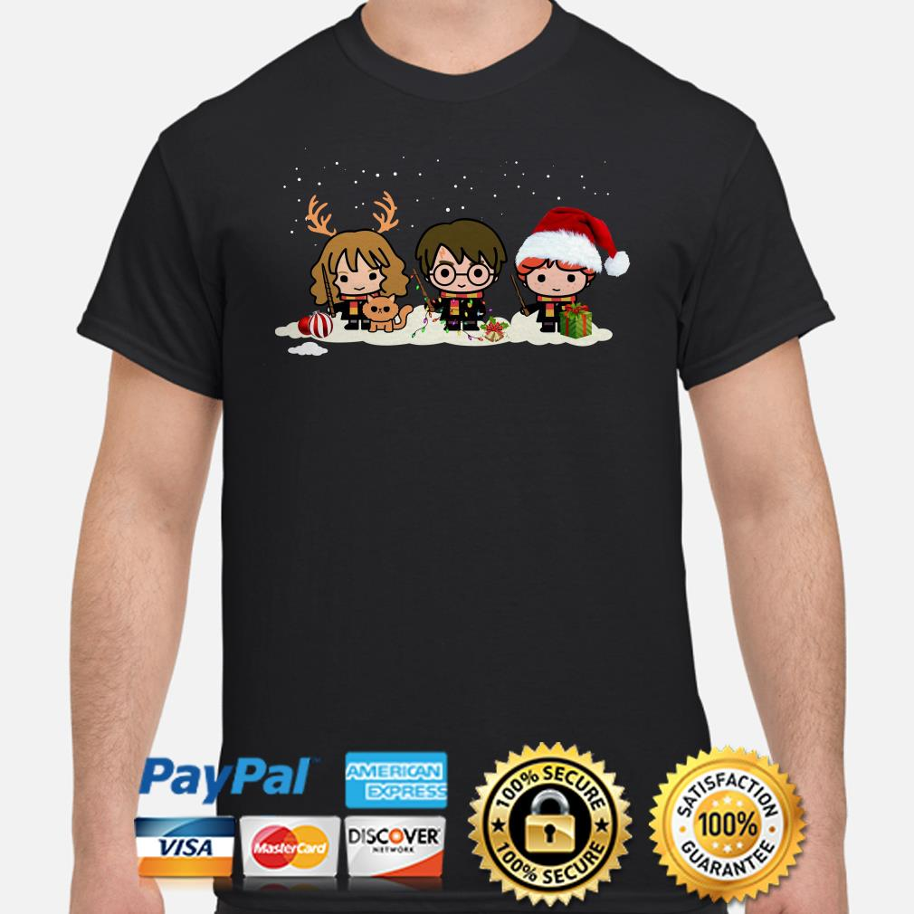 Harry Potter Chibi characters Christmas shirt