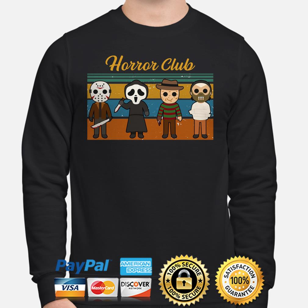Horror Characters Horror Club Vintage sweater